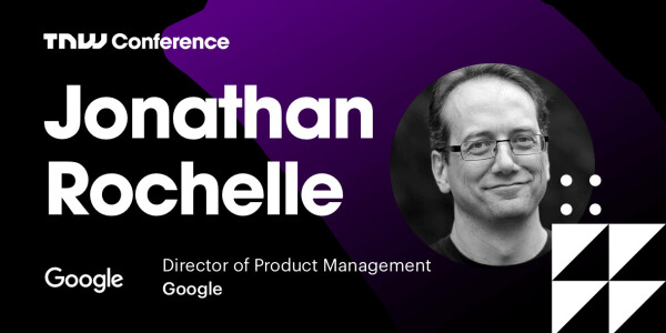 Google's Jonathan Rochelle is live at TNW2019 – tune in now!