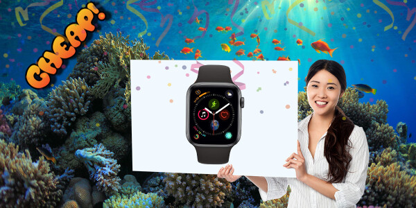 CHEAP: The latest Apple Watch is at an all time low of $349 – buy one!