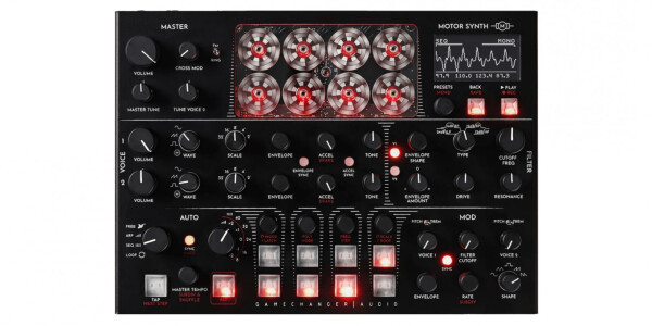 Gamechanger Audio's analog synth uses drone motors to create awesome music