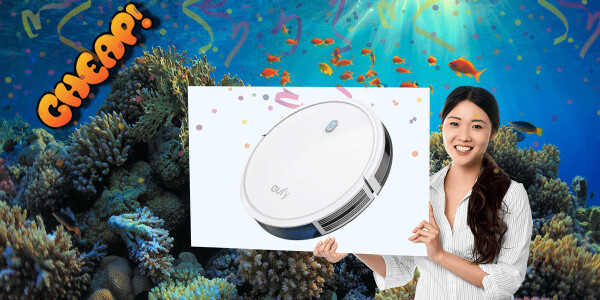 CHEAP: You've only got HOURS to get this eufy 11s robo-vacuum for $149