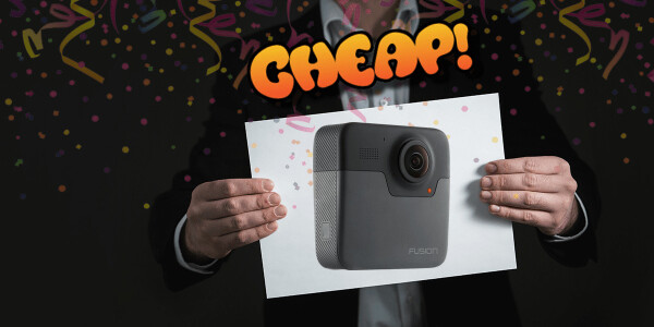 CHEAP: Tell 360 degree tales of your adventures with $300 off GoPro Fusion