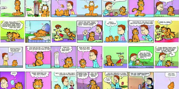 Hey look, AI ruined Garfield