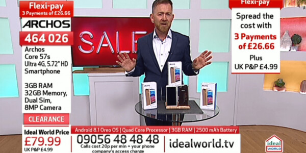 Teleshopping channels are selling smartphones with misleading, high-pressure tactics