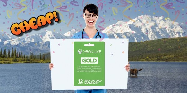 CHEAP: Get yelled at by teens on Xbox LIVE now a 12-month Gold Membership is only $50