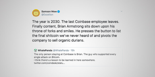 Bitcoiners are predicting the future of blockchain with #TheYearIs2030
