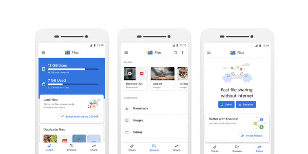 Google is readying an AirDrop-style competitor for fast file transfers