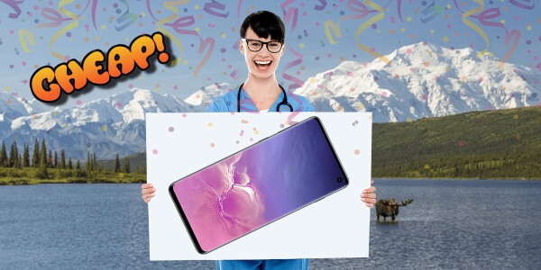 PRIME CHEAP: Fast! Schnell! Hurtig! The Samsung Galaxy S10 has $300 off