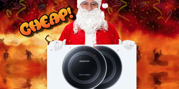 CHEAP: Begone, cable — $50 for 2 Samsung wireless charging pads have damned thee to hell