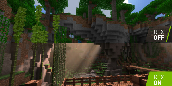 Minecraft with ray tracing looks so good I actually want to play it