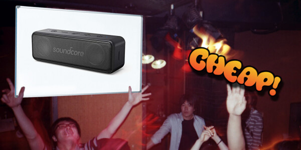 CHEAP: Pump up the jams, fellow kidz! This Anker portable speaker is $20