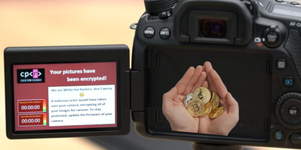 Researchers hacked a Canon DSLR with ransomware demanding Bitcoin