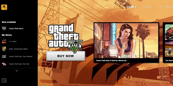 Rockstar Games releases a PC launcher for some reason