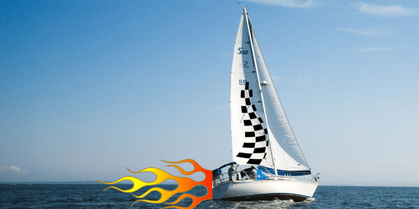 An engineer explains how supercharged racing yachts go so fast