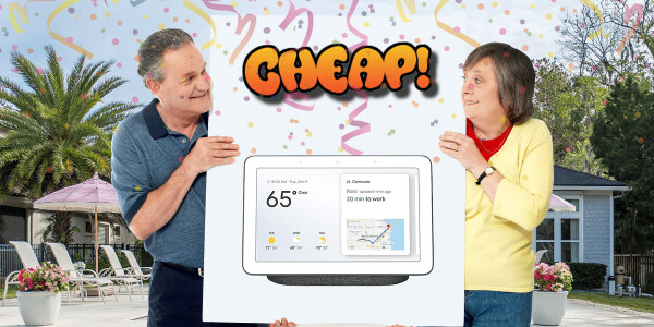 CHEAP: Yes, I will take 54% off this Google Home Hub thank you very much