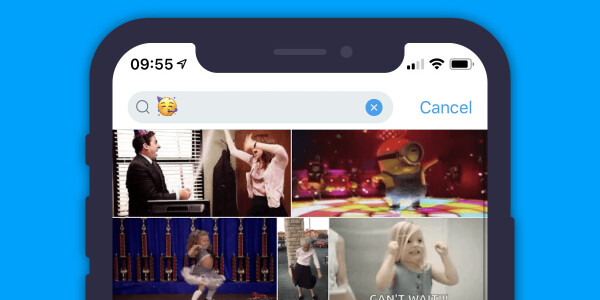PSA: You can use emoji to easily find the right GIF to use on Twitter, WhatsApp, and more