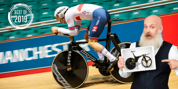 [Best of 2019] This new Olympic track bike is so crazy it'll probably get banned