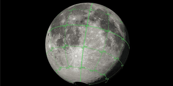 NASA releases 3D Moon map for visual artists