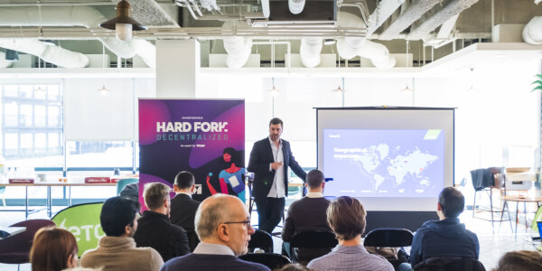 Discuss blockchain's impact on fintech and business at Hard Fork Summit