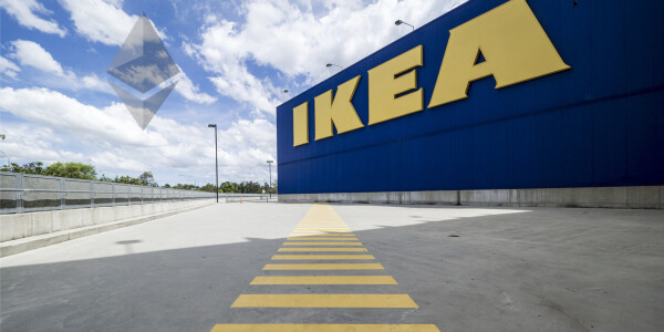 IKEA just allowed an invoice to be paid via the Ethereum blockchain