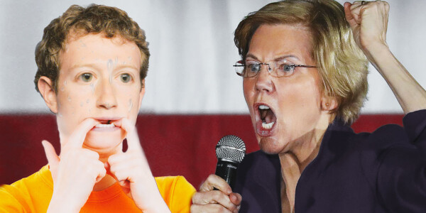 Zuck says he's ready for a fight if Elizabeth Warren is elected
