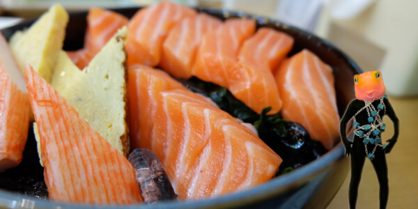 This fish-farming Mitsubishi subsidiary just put salmon on the blockchain