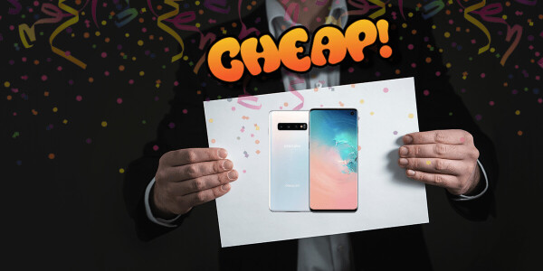 CHEAP: Reach for the stars. Here's $250 off the Samsung Galaxy S10