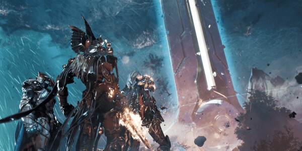 Leaked trailer offers a new look at Godfall, the first game announced for PS5