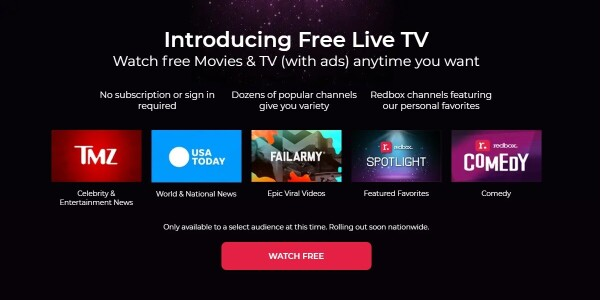 Redbox now offers a free streaming service — here's how it works