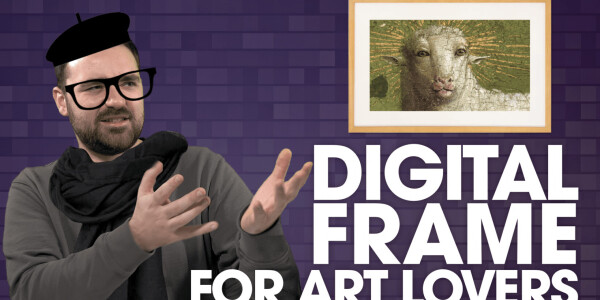 Video: The Canvia digital art frame is gorgeous, expensive, and flawed
