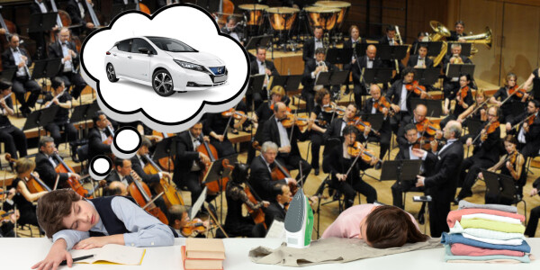 Nissan drops 5-track EP to help children sleep in electric vehicles