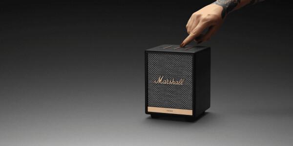 Marshall's tiny new Uxbridge speaker comes with Alexa built-in