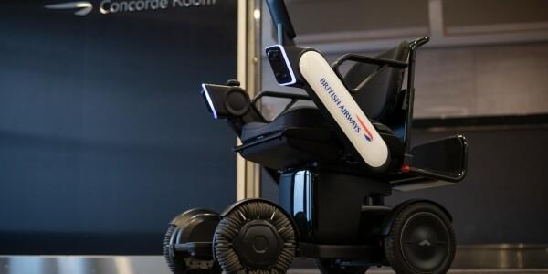 British Airways is testing self-driving wheelchairs at JFK and Heathrow