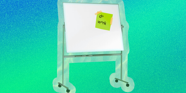 How a simple whiteboard can supercharge your productivity