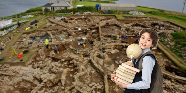 Children are leading archaeological investigations in Scotland – and enriching whole communities