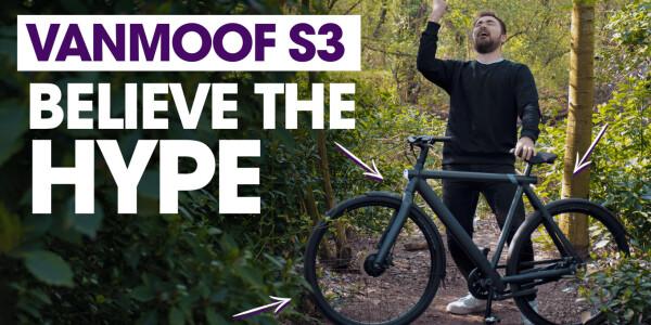 I love the new VanMoof S3 e-bike like it was my metallic daddy