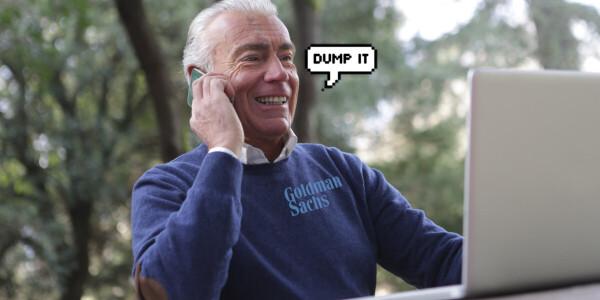 Goldman Sachs analysts on Apple stock: Dump. It.