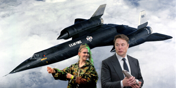 The low-down on the A-12 spy plane that Elon Musk and Grimes named their child after
