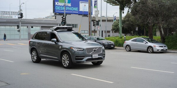 Authorities charge Uber backup driver involved in fatal self-driving crash