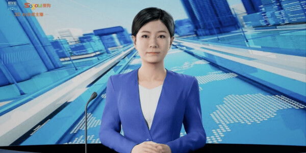 China's latest AI news anchor mimics human voices and gestures in 3D