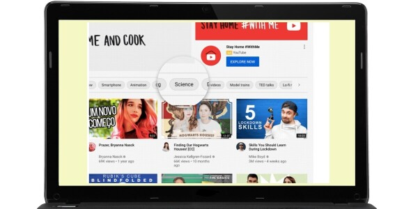 YouTube rolls out personalized 'topics filters' on iOS and Web