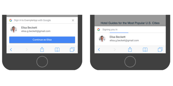 Google's new One Tap system will make sign-ups and logins easier on Android — and I'm into it