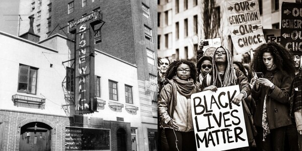 From Stonewall 1969 to Black Lives Matter 2020: How technology ignites change