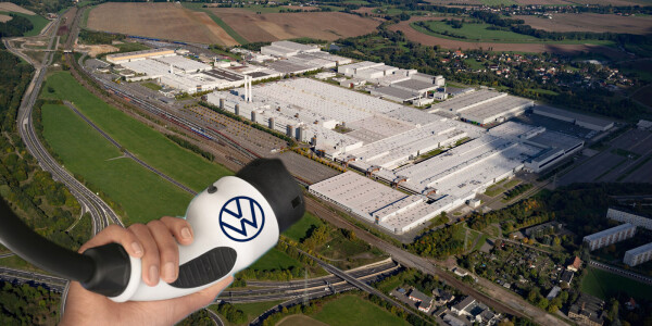 Volkswagen now officially runs Europe's biggest electric car plant