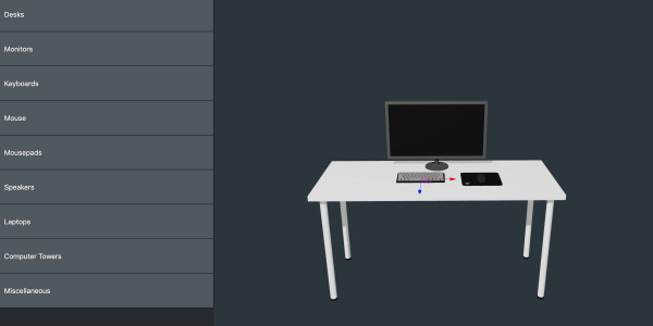 This 3D app lets you design the perfect desk setup before buying anything