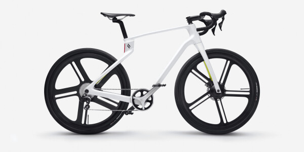 The Superstrata ebike is made of 3D-printed carbon fiber and tailored to your body