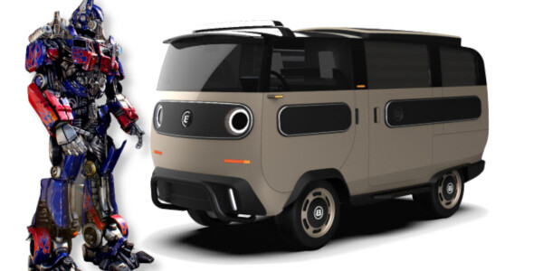 The modular eBussy is the Transformer minivan you've been waiting for