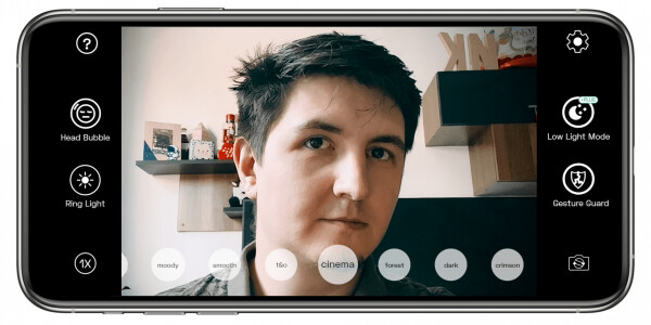 NeuralCam Live is a great AI-powered app for turning your iPhone into a webcam