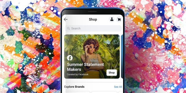 Facebook introduces a new shopping tab in the app — just like Instagram