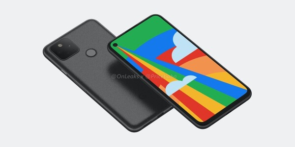 The Google Pixel 5 renders are in — and it looks just like the 4a