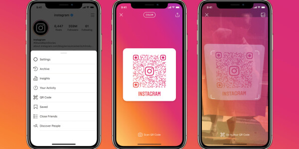 Instagram rolls out proper QR codes to let you follow accounts quickly
